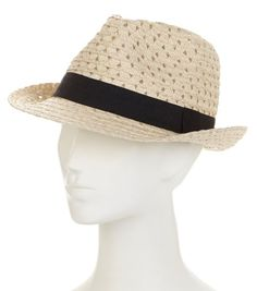 This Straw Studios woven fedora is perfect for all your summer getaways! Plus, it comes in so many fabulous colors...which will you choose?