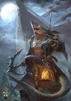 Kooran, capitão da mandíbula dos mares