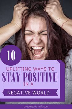 In a negative world, it's so important to stay happy and positive. Finding happiness and encouragement is possible through these 10 simple tips and inspirational quotes. #christianlife #positivity #thinkpositive #biblicalencouragement #oneexceptionallife Stay Positive Quotes, Inspirational Quotes About Success, Staying Positive, Meaningful Quotes, Wife Quotes, Friend Quotes, Quotes Quotes, Christian Love, Christian Living