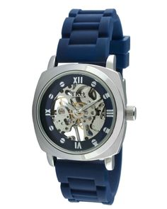 Rubber Mechanical Skeleton Blue