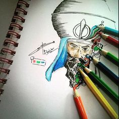 Sikh art & color Love the creative approach to this piece and the use of colors and display. Great work by Balrajbir Singh ( Punjab Culture, Guru Pics, Guru Gobind Singh, Historical Pictures, Religious Art, Dragon Ball Z, Cool Art, Art Gallery, Faith