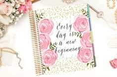 EC Cover Erin Condren Planner Cover Every day by PrettyPlannerPlus