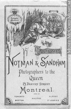 Read the free online art book by Sarah Parsons to discover the life and major works of William Notman, the first internationally renowned Canadian photographer. Canadian Winter, Blanket Coat, Snowshoe, Red River, A Decade, Online Art, Montreal, Book Art, Envelope