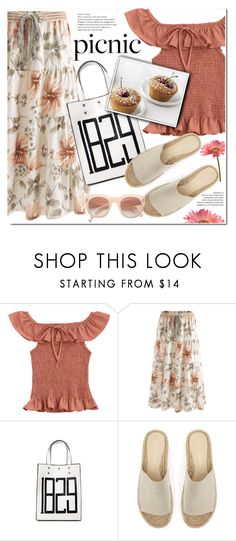 """""""Picnic in the Park"""" by duma-duma ❤ liked on Polyvore featuring Mint Velvet and picnic"""