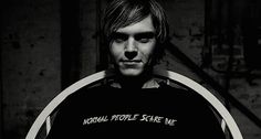 <b>Fries before guys.</b> Unless you're Evan Peters, of course.