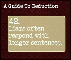 Sherlock A Guide To Deduction on We Heart It Writing Tips, Writing Prompts, Guide To Manipulation, A Guide To Deduction, The Science Of Deduction, Detective, Bbc, How To Read People, Psychology Facts