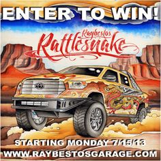 Enter to win our 2014 #Toyota #Tundra #Raybestos Rattlesnake starting 7/15/13