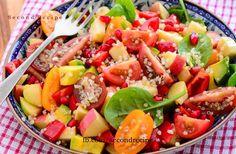 Clean eating recipe- Crunchy Quinoa salad