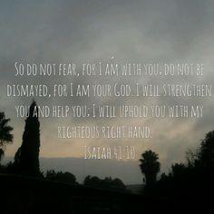 | The Bible App | Bible.com  Isaiah 41:10