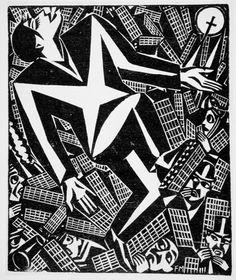 by Frans Masereel (Belgian 1889 - 1972)