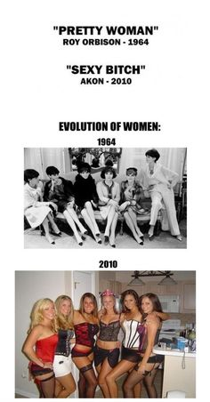 5c6c26aff4599 Evolution of Women ! What does this say about society  Classy Women