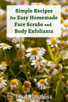 Simple Recipes for Easy Homemade Face Scrubs and Body Exfoliants