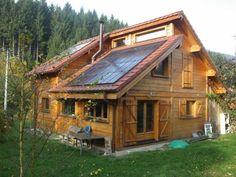maison bois solaire passive france + serre - Recherche Google