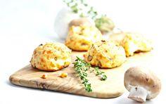 #MightyMushrooms Cheesy Mushroom Gourgeres