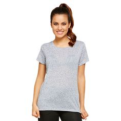 Dannii Minogue Petites Relaxed T-Shirt - Grey Marle