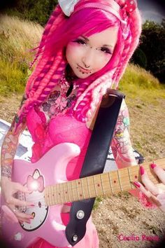"""""""I'm Pink McPinkrocks with my hit song, """"Thinkie Pinkie""""..."""