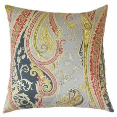 The Pillow Collection Efharis Paisley Bedding Sham