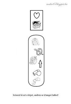 Kisbetűkben képek a hangfelismerés gyakorlásához – Játékos tanulás és kreativitás Teaching, Education, School, Onderwijs, Learning, Tutorials