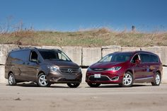 VISIT FOR MORE Chrysler Pacifica Vs. Mercedes-Benz Metris: Moving Van Challenge The post Chrysler Pacifica Vs. Mercedes-Benz Metris: Moving Van Challenge appeared first on mercedes. Chrysler Pacifica, Cargo Van, Mercedes Benz, Challenges, Cars, Autos, Automobile, Car