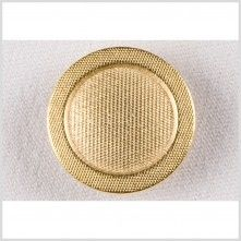 24L/15mm Gold Metal Button