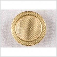 24L/15mm Gold Metal Button