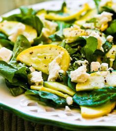 Summer Squash Salad on Pinterest | Raw Salad Dressings ...