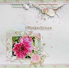 True Romance Neat N Crafty: chrysanthemum - Sassy Scrapper True Romance, Romance And Love, Just Love, True Love, Scrapbook Pages, Scrapbooking Layouts, Layout Inspiration, Chrysanthemum, Love Flowers