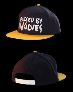Raised by Wolves - Logo Snapback e6b8052f33d8