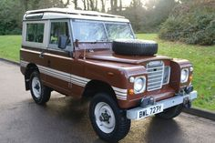 1982/Y.. Land Rover 88 County Station Wagon.. 4 Cylinder Petrol..