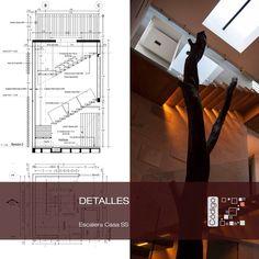 Casa SS Detalle escalera Patio Interno