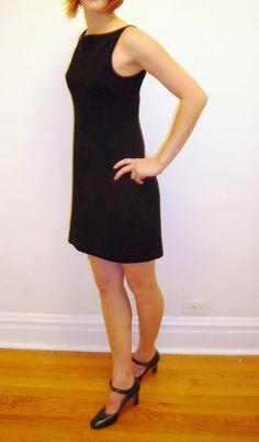 Prada Black Wool Dress