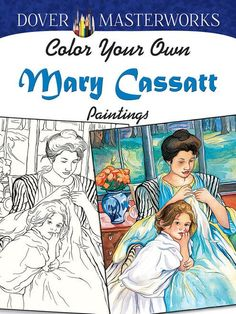 Color 30 black-and-white illustrations of masterpieces by the great American Impressionist, best known for her paintings of mothers and their children. All paintings are shown in full color on the cov