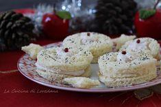 Antipasti per Capodanno - Tante semplici e sfiziose idee Krispie Treats, Rice Krispies, Antipasto, Finger Foods, Mousse, Cheesecake, Food And Drink, Cookies, Desserts