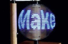 Build a Persistence-of-Vision LED Globe | Make: