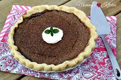 Minny's famous chocolate pie minus the terrible awful from the book and movie The Help! The Help is one of my favorite movies! Easy Chocolate Pie, Best Chocolate Desserts, Chocolate Pie Recipes, Famous Chocolate, Chocolate Chocolate, Delicious Desserts, Dessert Recipes, Yummy Food, Yummy Snacks