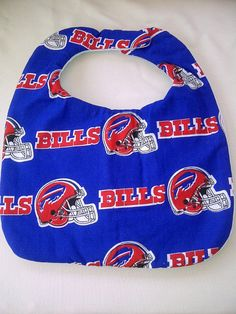 Hand Crafted Buffalo Bills NFL Red Logo on Blue by HikerJohnson, $9.00