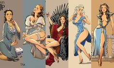 game of thrones pin-up - Andrew Tarusov