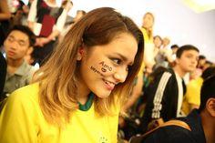 El futbolista Neymar ha tenido una calurosa bienvenida a su llegada al aeropuerto de Haneda, en Tokio