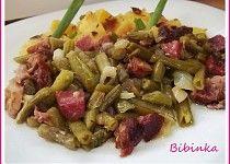 Uzené maso ve fazolkách-rychlé a jednoduché Kung Pao Chicken, Potato Salad, Potatoes, Beef, Ethnic Recipes, Meat, Potato, Steak