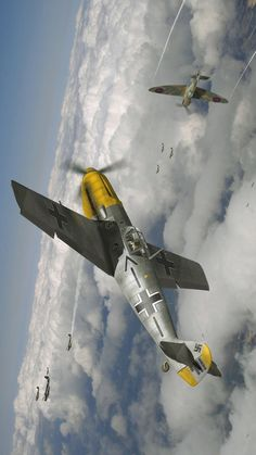 BF 190vs Spitfire