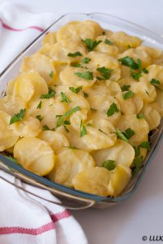 Baking Recipes, Potato Salad, Cauliflower, Macaroni And Cheese, Good Food, Food And Drink, Menu, Dinner, Vegetables