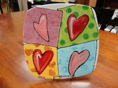 Valentine Heart Plate