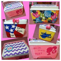 Adorbs Cooler. I'm in love with the seashell lilly print.