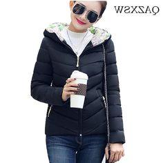 28.40$  Watch now - https://alitems.com/g/1e8d114494b01f4c715516525dc3e8/?i=5&ulp=https%3A%2F%2Fwww.aliexpress.com%2Fitem%2FWinter-Jacket-Women-2016-Fashion-Slim-Short-Cotton-Padded-Hooded-Jarka-Female-Wadded-Jacket-Outerwear-Winter%2F32758714393.html - Winter Jacket Women 2016 Fashion Slim Short Cotton-Padded Hooded Jarka Female Wadded Jacket Outerwear Winter Coat Women ZH127 28.40$