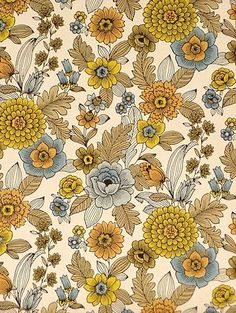 These vintage wallpaper designs need to be made into fabric prints for head scarves with the quickness-TMC~~ Vintage wallpaper Wallpaper For Sale, Retro Wallpaper, Pattern Wallpaper, Vintage Wallpapers, Flower Wallpaper, Motif Vintage, Vintage Patterns, Vintage Prints, Vintage Wallpaper Patterns