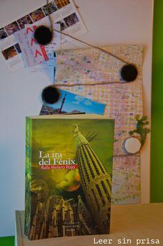 Reseña hoy en Leersinprisa de la primera novela de Rafa Melero: La ira del Fénix.