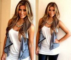 Thinking about going a little darker with light brown hair?