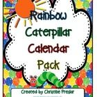 This is a calendar pack designed with a rainbow/caterpillar theme.  It includes cards for all 12 months, 7 days of the week, and 31 days.  There ar...