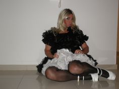 me in my maids dress ~kisses~