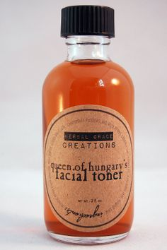 Queen of Hungary's Natural Facial Toner by HerbalGraceCreations on Etsy, $16.00 --